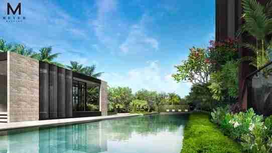 meyer mansion pool view